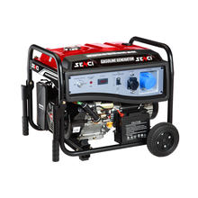 Senci SC4000i Portable Generator with Electric Start - 4100 Peak Watts & 3800 Rated Watts - Gas Powered - CARB Compliant