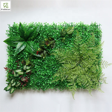 Wholesale Hot Selling Artificial Green Grass Leaves Plant Wall lawn Wedding Party Coffee Decoration Encryption Stage Backdrop