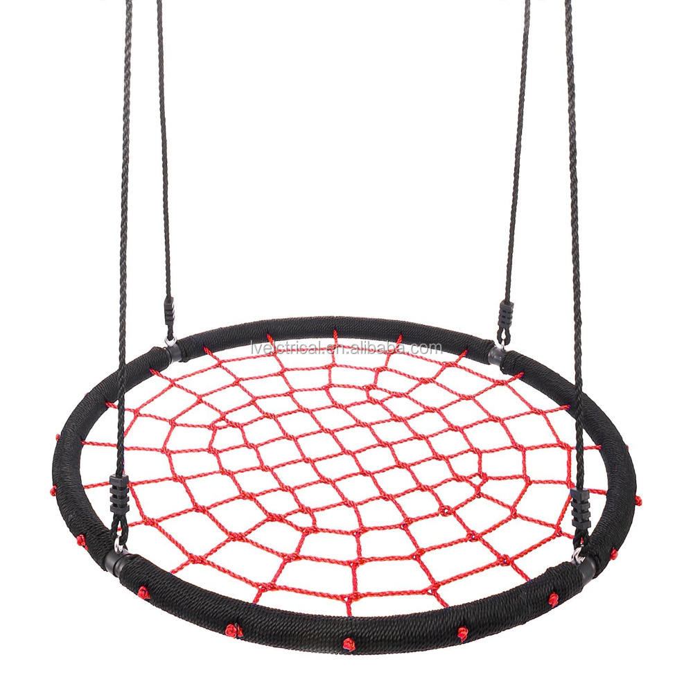 Giant Round Web Net Tree Swing 600LB