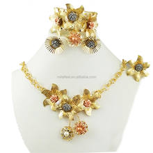 2018 Newest African Jewelry Set for wedding jewelry sets BJ618