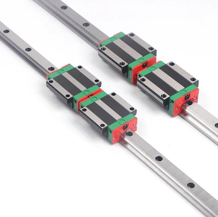 싼 Price Taiwan HIWIN Linear Guide Rail HGR20 Linear Flange Block Carriage HGW20CC/HGW20CA