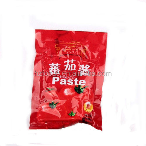 Tomato paste ketchup brix 28-30 high purity factory wholesale long term supply