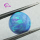 Synthetic White Blue Pink 6mm 8mm Opal Beads For Necklace