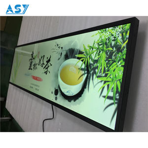 38 49 58 inch LCD layar Lebar peregangan bar LCD display Digital Signage