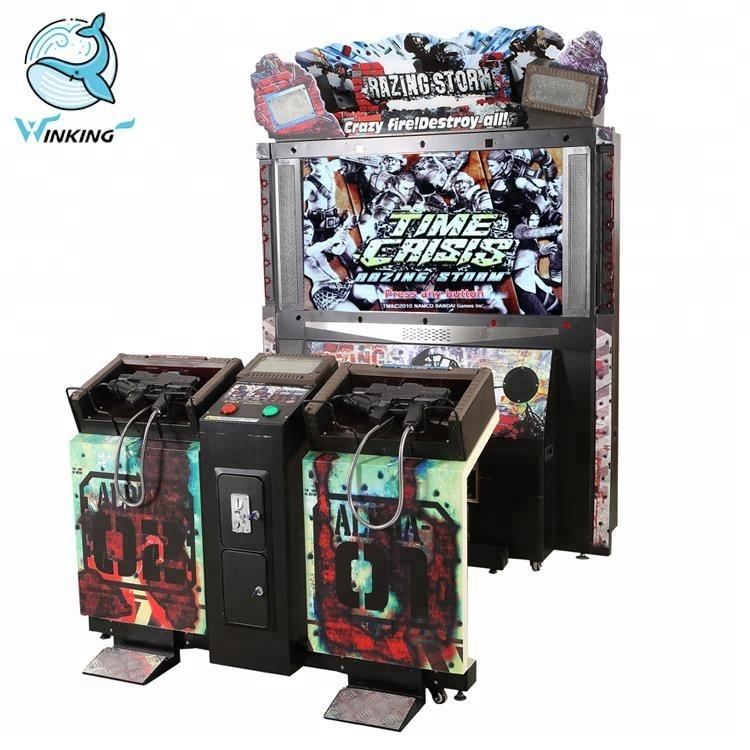 55 inch Razing storm arcade simulator pistool shooting games indoor volwassen shooting games voor koop