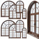 arch windows aluminum windows and door production line glass window