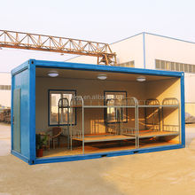 Portable Prefab Container House Customized Modular Workers Dormitory
