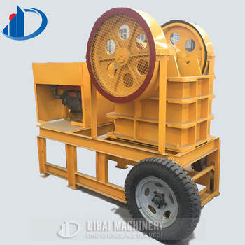 2019 Reliable Performance Stone Crusher Plant | Portable Diesel Engine Jaw Crusher Plant