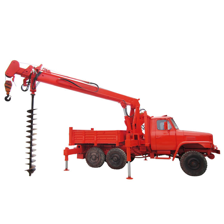 TDZ-18 Backyard Digger Derricks Pole Erection Cranes
