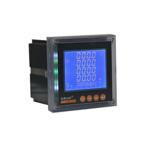 high performance ACR triplephase web electric meter with four-quadrant energy metering