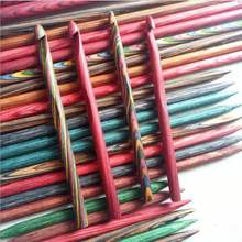 Wooden colorful Knitting Needles