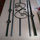 wrought iron balusters and railing/cheap iron balusters(ISO Factory)