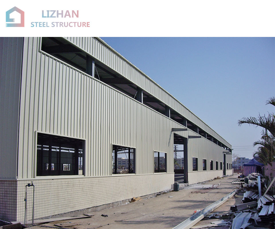 fabrication companies prefabricated high rise flat roof steel storage building
