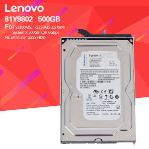 81Y9802 7.2 K SATA G2SS HDD 3.5 500 GB Server Internal Hard Disk Drive