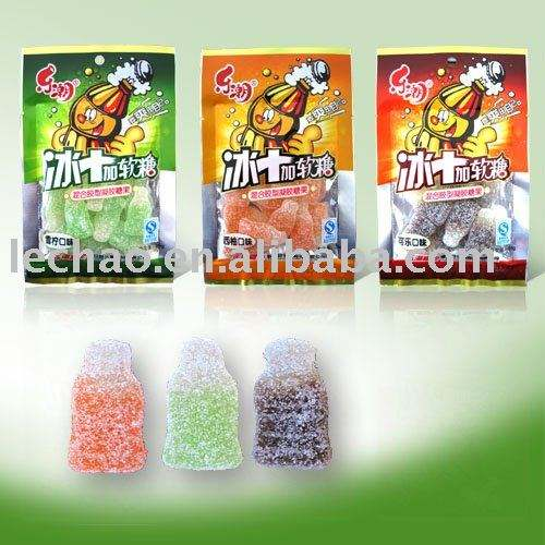 Cola Shape Furit Jelly Candy Halal Gummy Candy Fancy sweets candy product