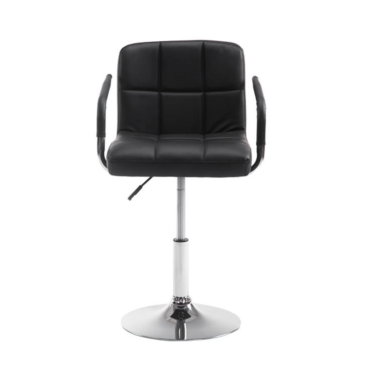 Pu [ Chair Barber ] Base Barber Chair PU Leather Adjustable Swivel Chair With Stable Base Cheap Salon Furniture Barber Chair