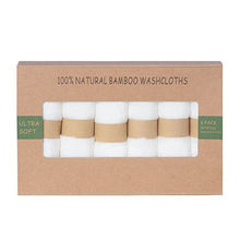white face towels bamboo fiber makeup remover cloth