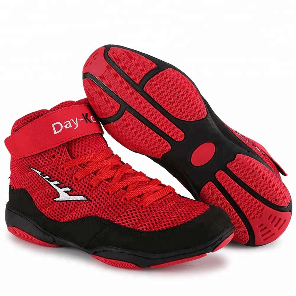Custom made professional manufacturers pakistan gym boxing shoes boots
