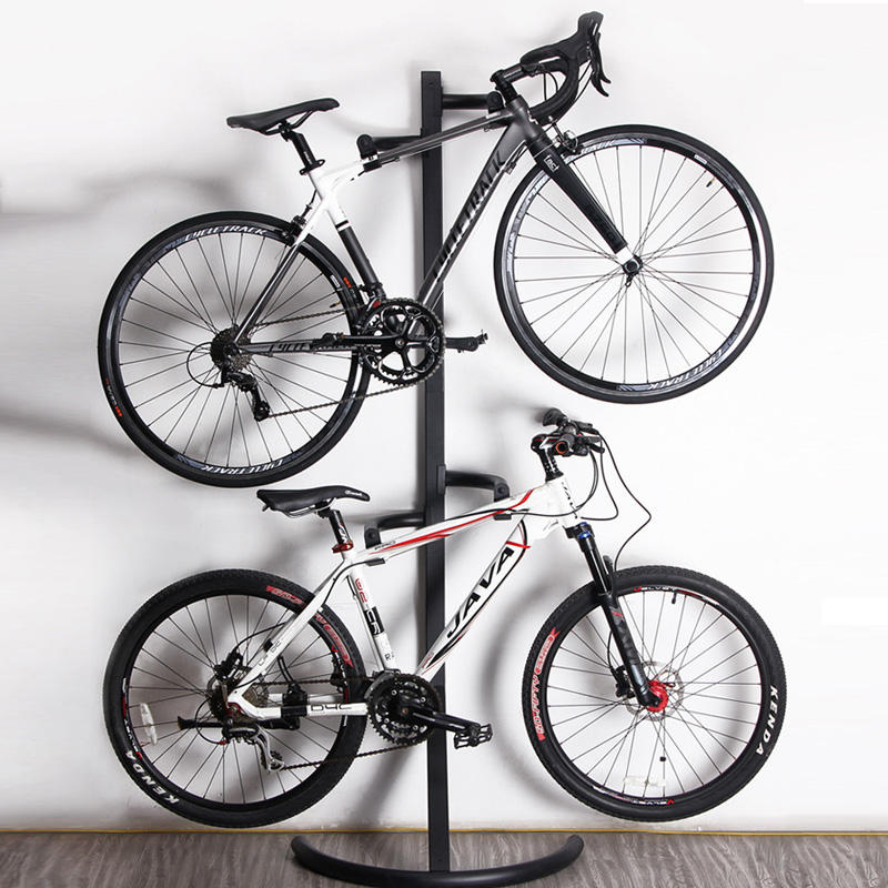 2018 Flooring metal bike display stand Bicycle display rack Holder Storage Bicycle Repair Stand