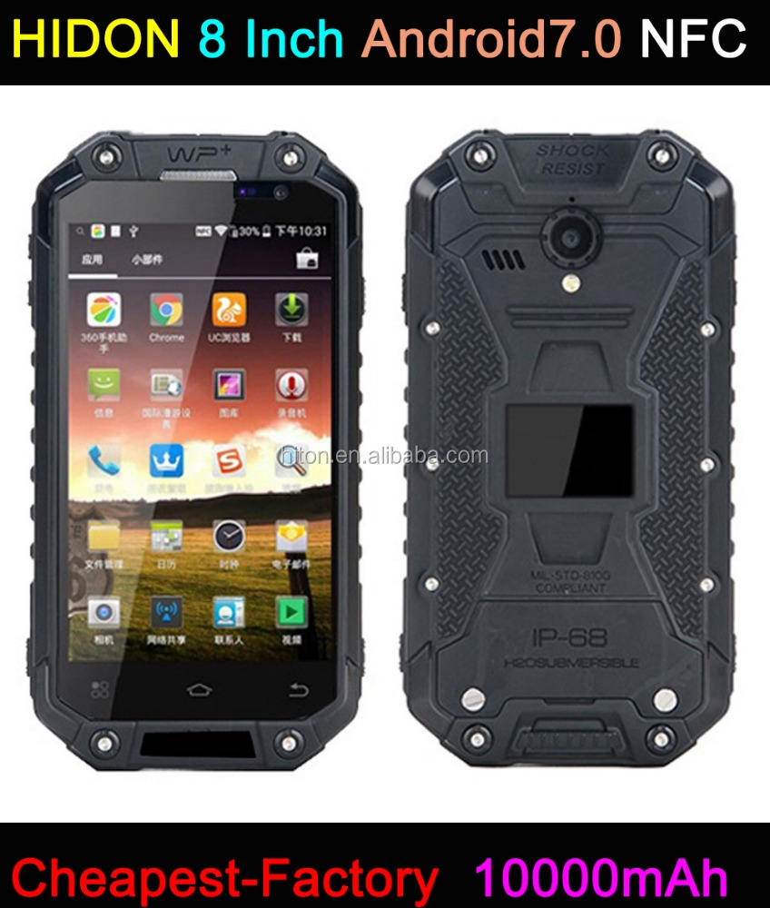 Highton 4.7 pollice Rugged Smartphone MTK6735 Android5.1 OS 4G LTE 2 GB di ram + 16RB rom IP68 NFC Rugged Smartphone