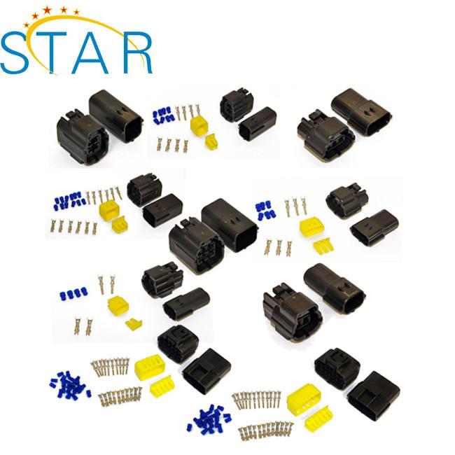 Kits de 10-6 vías cableado del impermeable AMP Econoseal Pin conectores de múltiples eléctrico