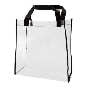 Promotionele Schouder Clear PVC Messenger Bag