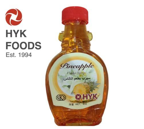 New pineapple flavored honey syrup with low price with high quality