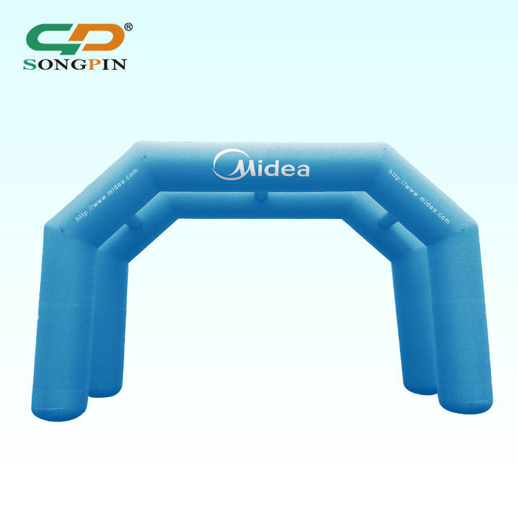 2019 Outdoor Giant Marquee Garage Cube Product Advertisement Hand Advertising Inflatable Arch