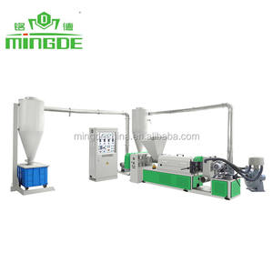 Air Cooling PE Plastic Recycling Machine