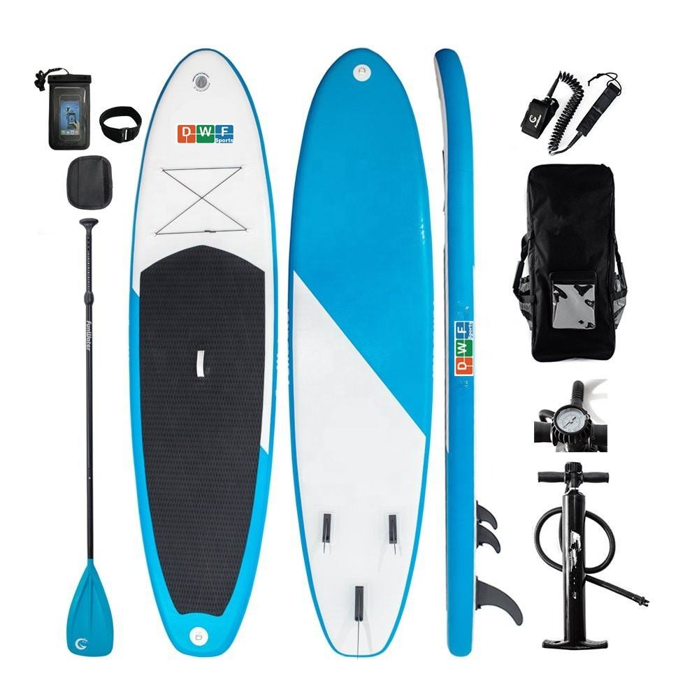 Hot sale ISUP giant inflatable stand up paddle boards include surf board and yoga sup made in China