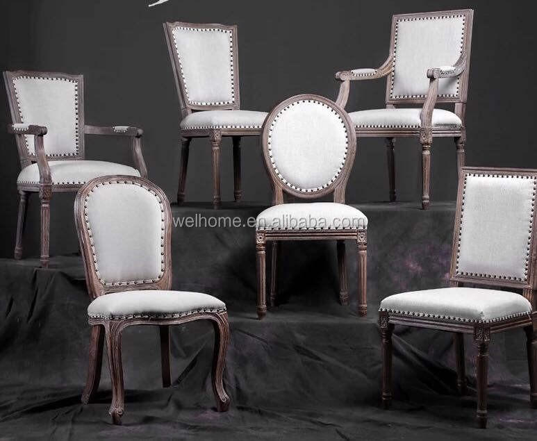 High Quality antique old style chairs louis xvi chair wholesale banquet chairs