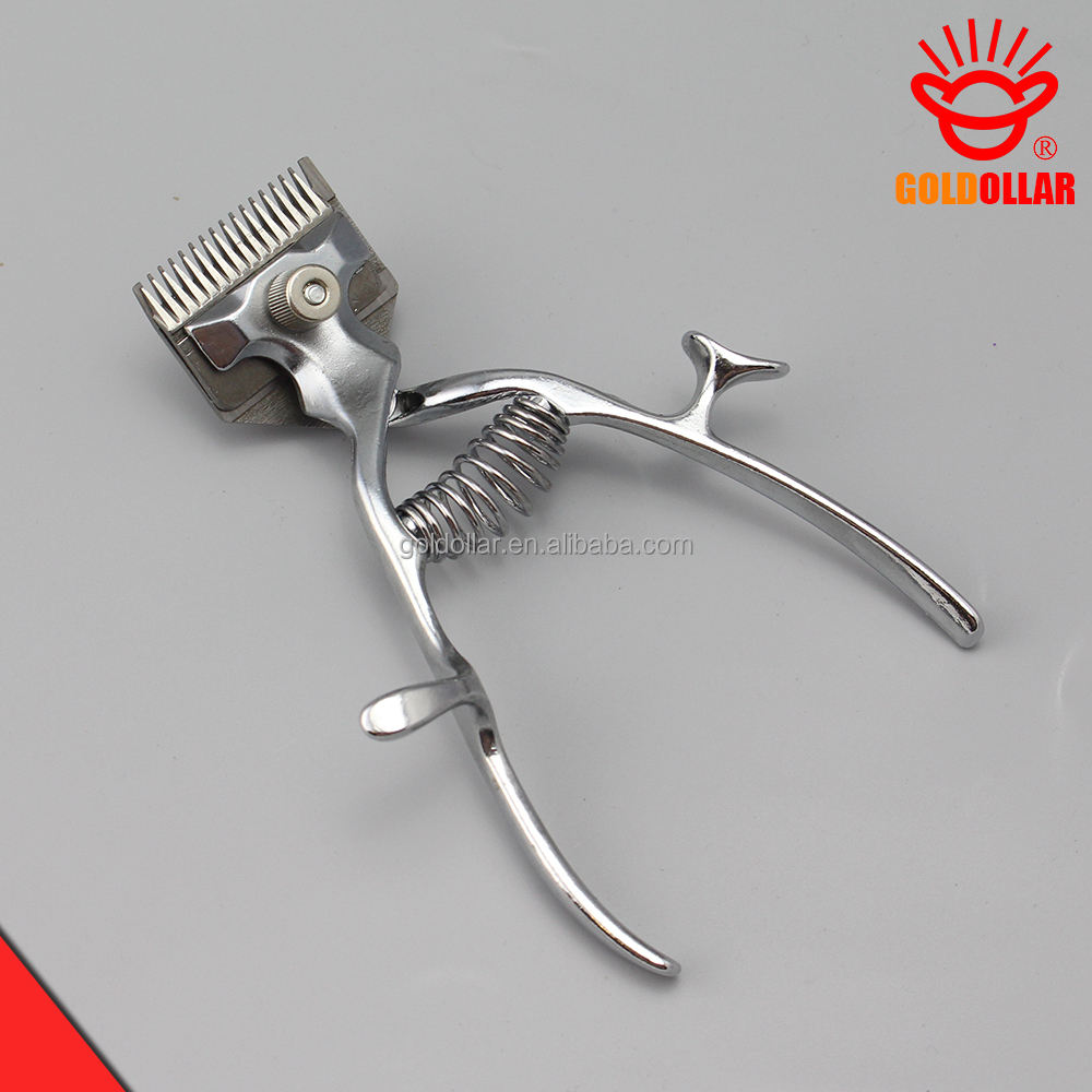 """GOLDOLLAR 301A"" Stainless Steel Diam Tangan Rambut Clipper Pemangkas Clipper"