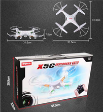 Christmas Sales Hot Sale Drone Syma X5C 2.4G 4CH 6Axis Helicopter RC Quadcopter with Camera