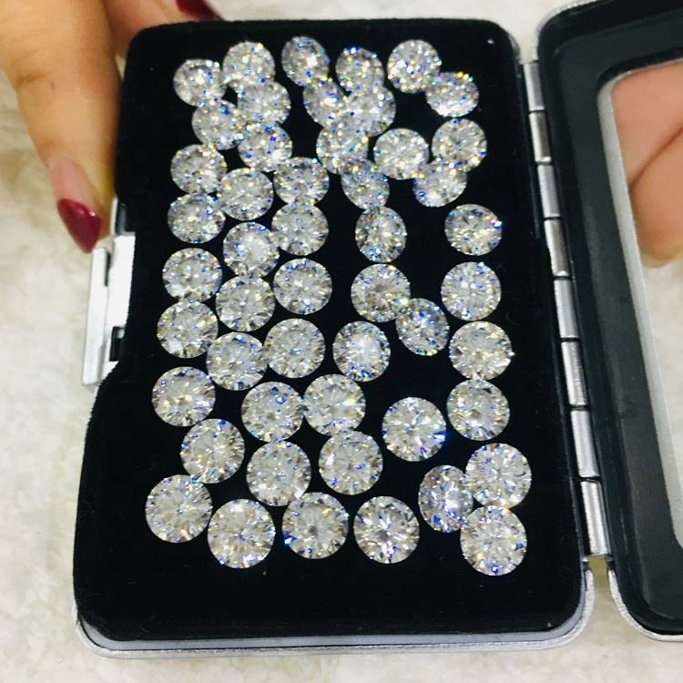 Loose Moissanite 7.0mm Gemstones Factory Price