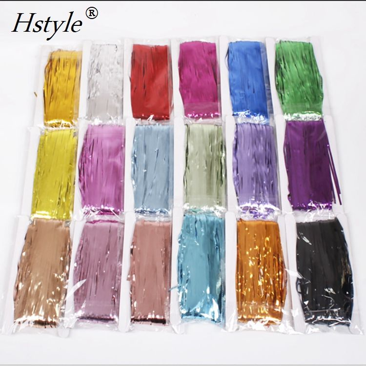 1*2M Tinsel Shimmer Foil Door Curtain Backdrop Curtain for Wedding Event Party SD005