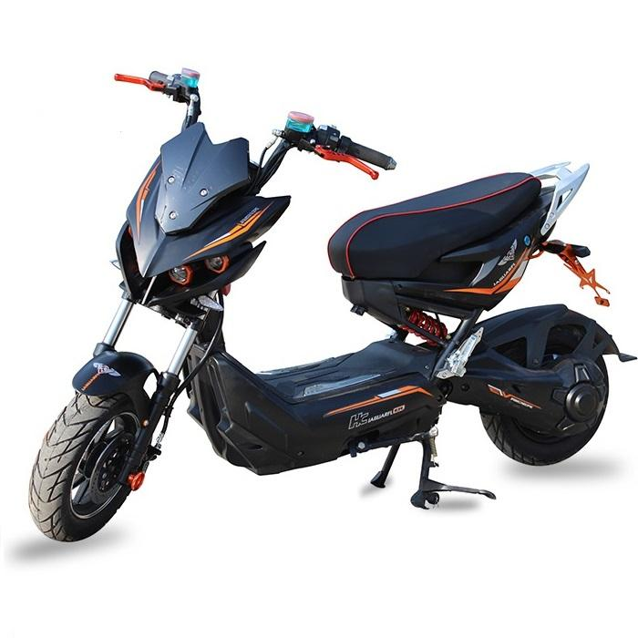 Good service china 2 wheel powerful high-tensile steel 2000 watt electric scooter