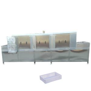 High quality hot sale industri plastic crate washer machine