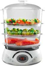 TS-9688-2K1 Keep warm electric digital food steamer