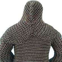 Cut resistant knife proof protect butcher steel chainmail armor