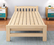 Modern burlywood wood double folding bed designs/solid wood bed furniture