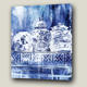 Chinese Blue And White Porcelain Top Sale Canvas Print Painting Custom Wall Art Picture