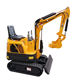 Chinese cheap mini excavator 0.8T small digger 1 Ton for sale