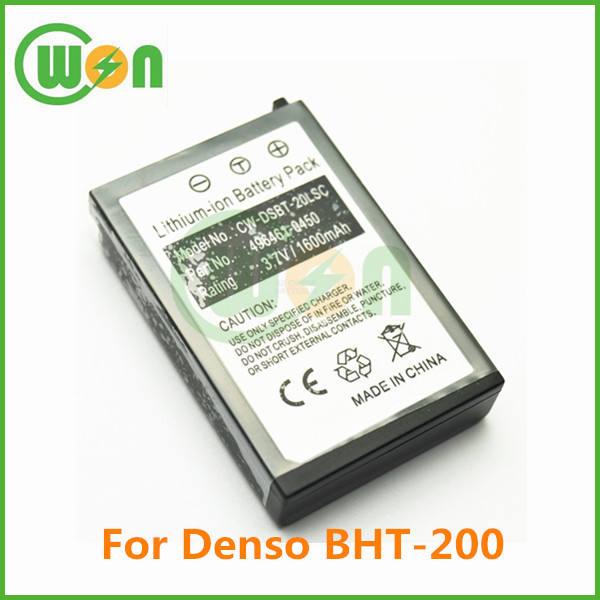 BHT-400 BHT-300 1800mAh Li-ion Barcode Battery For Denso BHT-200