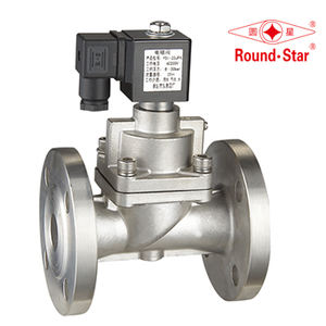 YSI HIGH PRESSURE SOLENOID VALVE , G1/2''~2'', ,Stainless Steel,Normally Open Type, NO