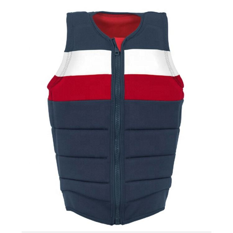 Wholesale water sports swimwear personal life jacket marine flotation device