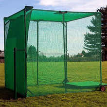 Golf dividing range net sport separate net golf cage or practice net