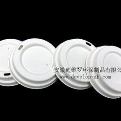 High quality Disposable degradable cup cover 100%biodegradable  cutlery
