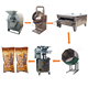 coffee coated peanuts cheese coated peanuts sunflower seeds coated processing line