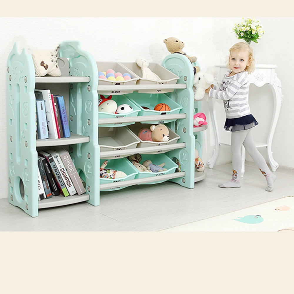 Portable Kids Book Shelf Cabinet Furniture For Shelf