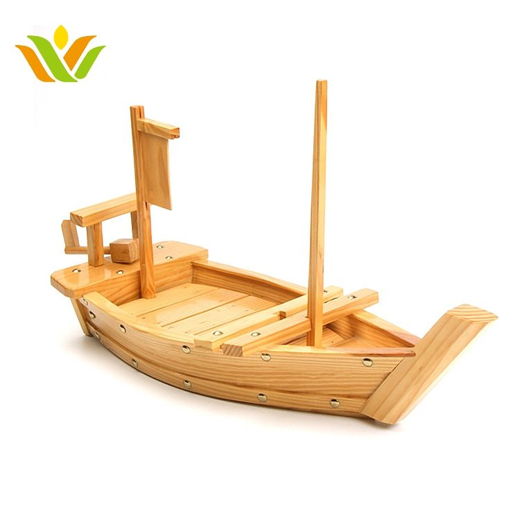 Boat [ Plate ] Japanese Sushi Bamboo Boat Sushi Serving Boat Plate Wholesale